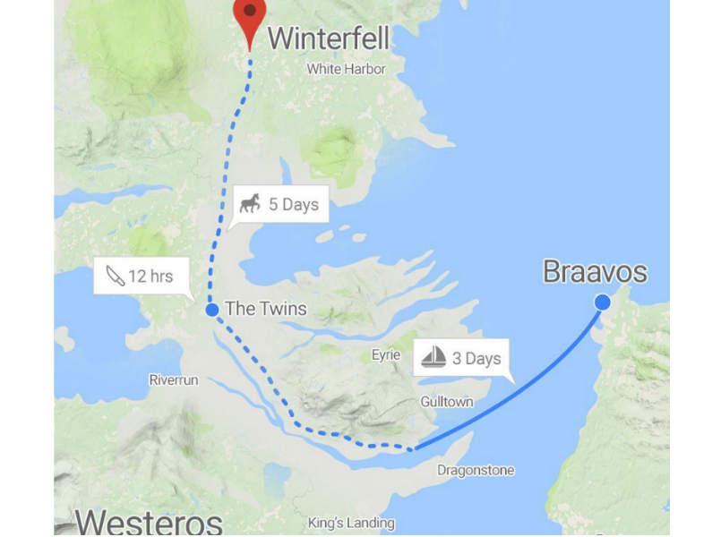 Explore Game Of Thrones On Google Earth Factstoday